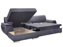 Угловой диван Рамон в раскладке