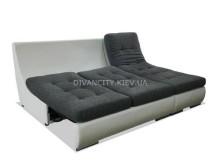Угловой диван Мираж в разложенном виде