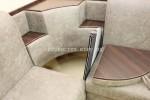 Угловой диван Ирен полочки и столик