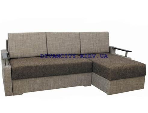Угловой диван Микс ткань рогожка