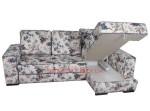 Угловой диван Онтарио ткань лилиум